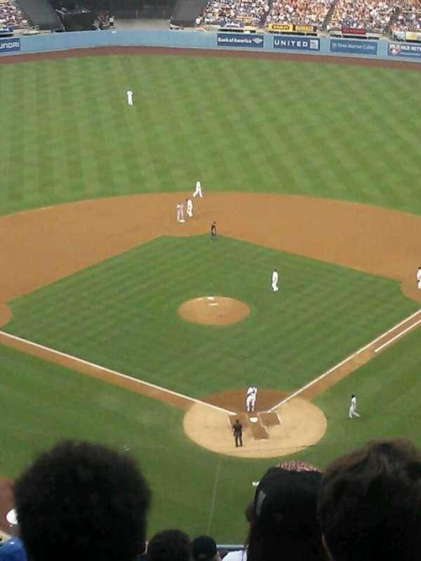 Dodger Stadium, secção: 3TD, fila: O, lugar: 15