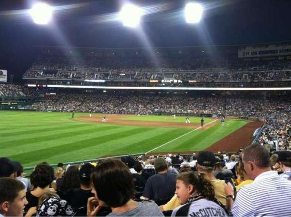 PNC Park, secção: 131, fila: L , lugar: 20