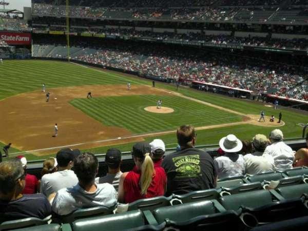 Angel Stadium, secção: C315, fila: f, lugar: 1