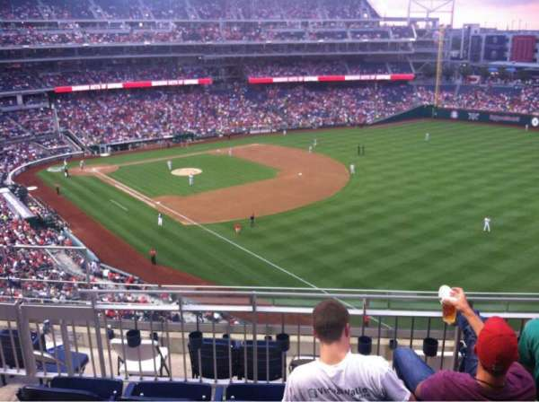 Nationals Park, secção: 228, fila: G, lugar: 13