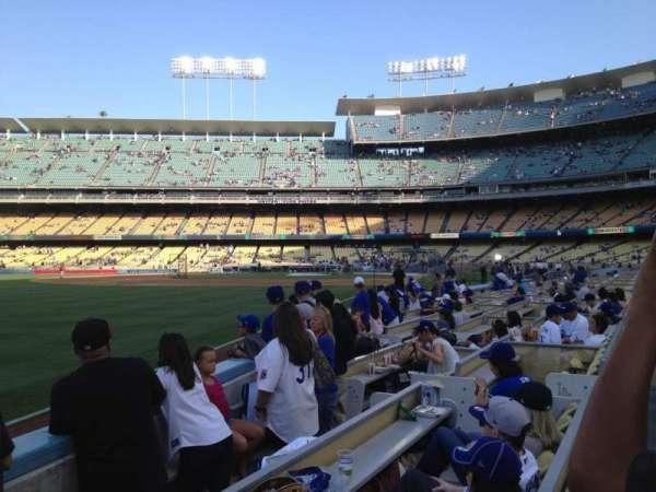 Dodger Stadium, secção: 45FD, fila: C, lugar: 11