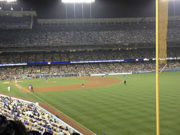 Dodger Stadium, secção: 164LG, fila: K, lugar: 11