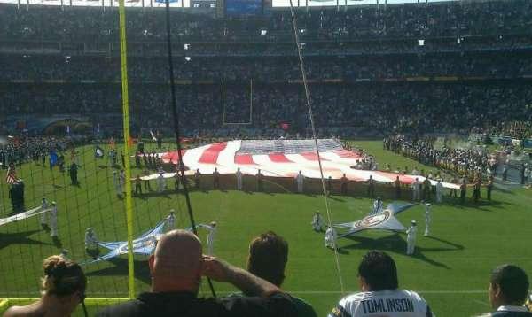 San Diego Stadium, secção: P52, fila: 3, lugar: 11