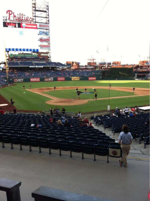 Citizens Bank Park, secção: 122, fila: 27, lugar: 7