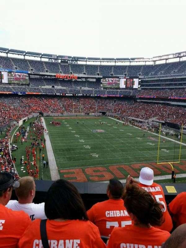 MetLife Stadium, secção: 204, fila: 4, lugar: 11
