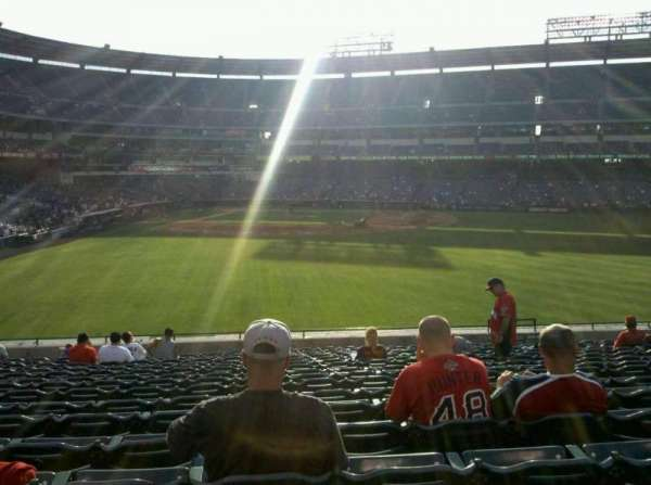 Angel Stadium, secção: P237, fila: U, lugar: 14
