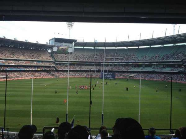 Melbourne Cricket Ground, secção: N3, fila: H, lugar: 13