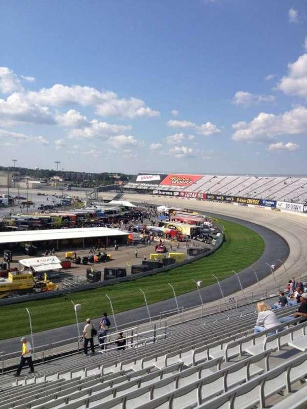 Dover International Speedway, secção: 223, fila: 19, lugar: 11