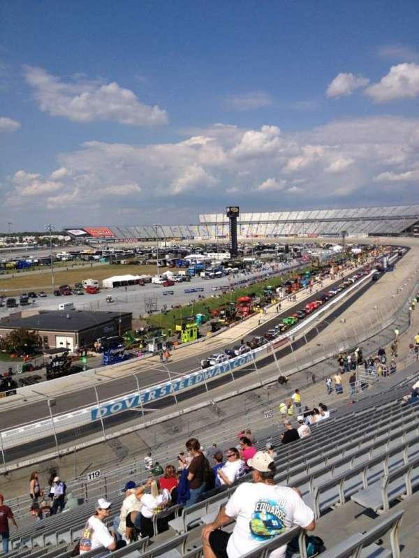 Dover International Speedway, secção: 120, fila: 24, lugar: 8