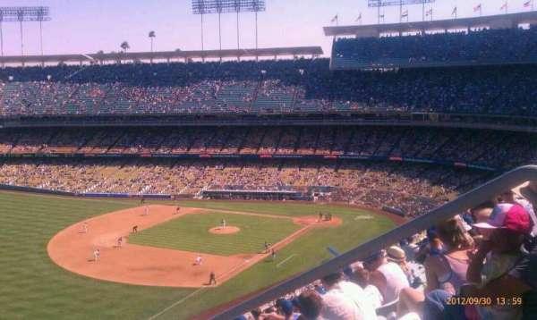 Dodger Stadium, secção: 43RS, fila: o, lugar: 1-8