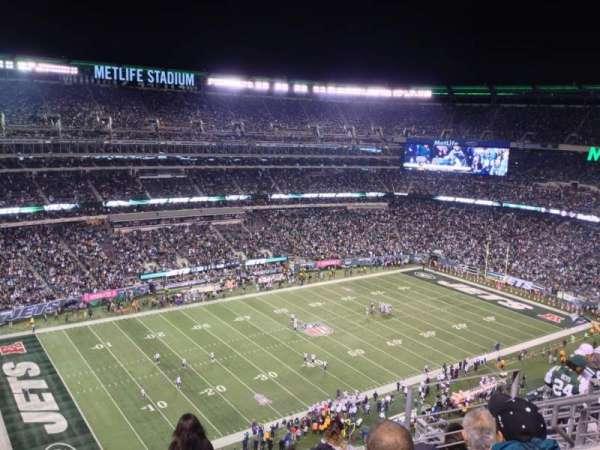 Metlife Stadium, secção: 343, fila: 12, lugar: 20