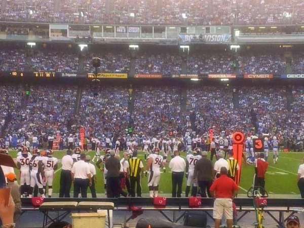 San Diego Stadium, secção: f6, fila: 5, lugar: 14