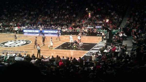 Barclays Center, secção: 121, fila: 5, lugar: 12