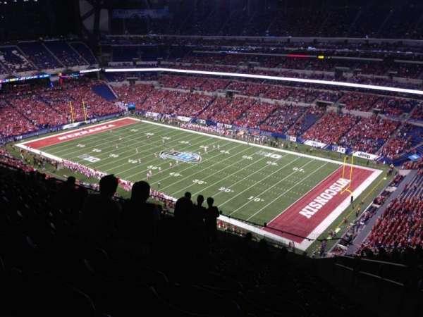 Lucas Oil Stadium, secção: 634, fila: 16, lugar: 3