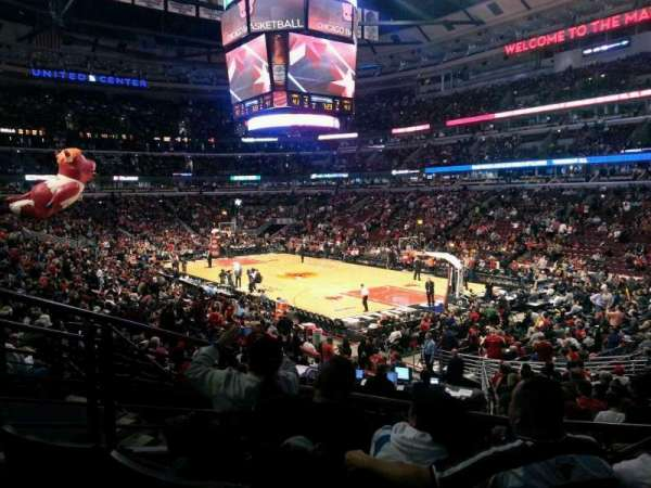 United Center, secção: 119, fila: 19, lugar: 22