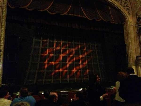 Merriam Theater, secção: Orchestra Left, fila: L, lugar: 5