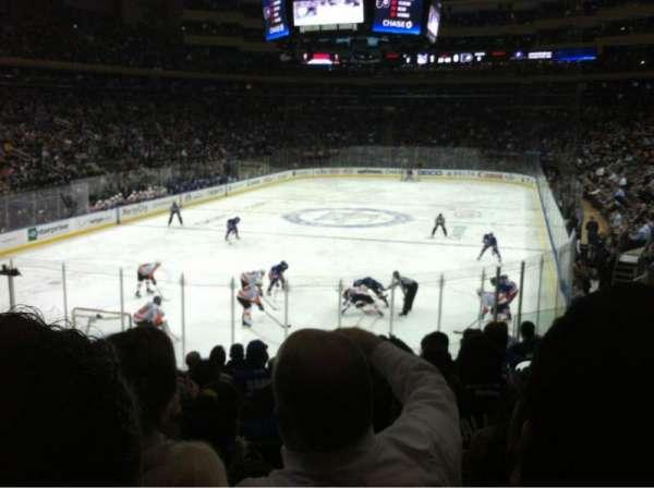 Madison Square Garden, secção: 113, fila: 15, lugar: 9