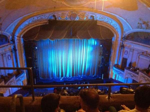 Merriam Theater, secção: F, fila: C, lugar: 113
