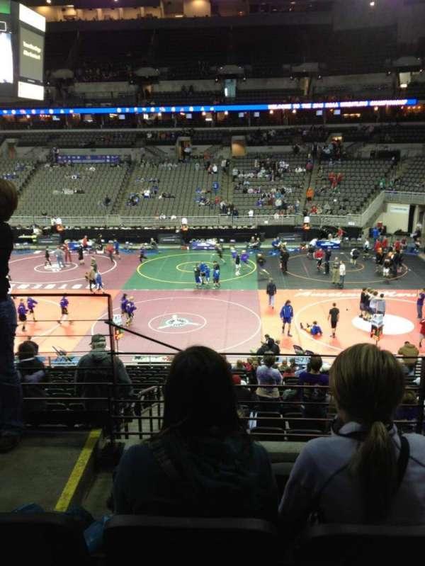 Wells Fargo Arena, secção: 119, fila: DD, lugar: 23