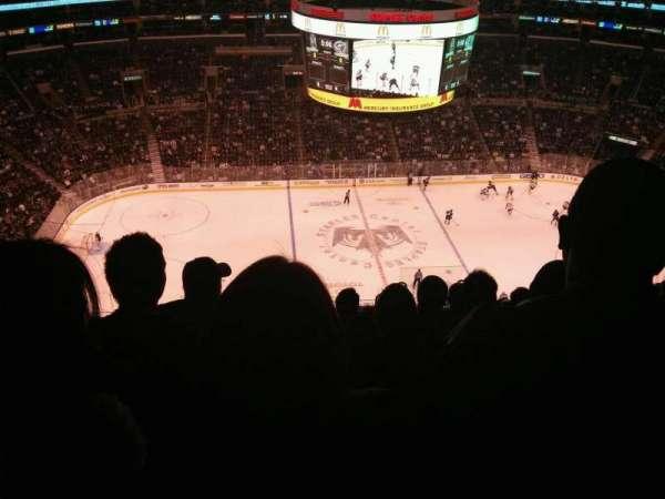 Staples Center, secção: 302, fila: 13, lugar: 7