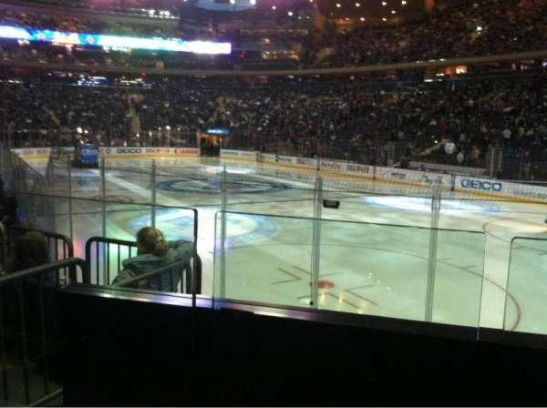 Madison Square Garden, secção: 120, fila: 7, lugar: 12