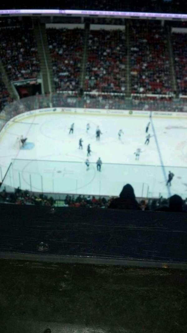 PNC Arena, secção: 305, fila: G, lugar: 18