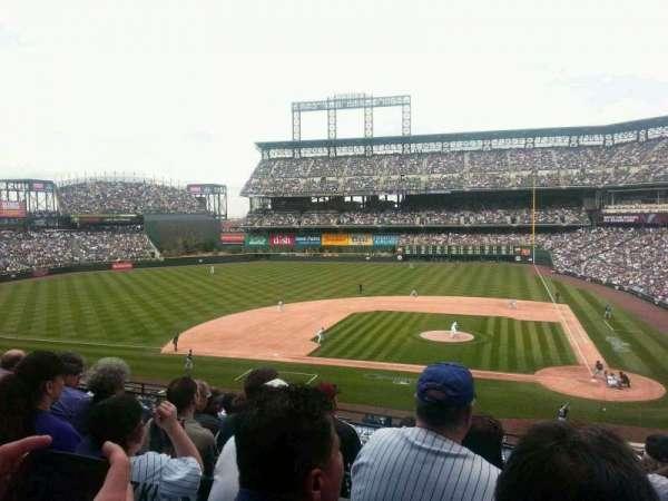 Coors Field, secção: 236, fila: 6, lugar: 2