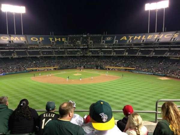 Oakland Coliseum, secção: 241, fila: 12, lugar: 4