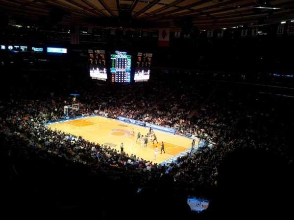 Madison Square Garden, secção: 227, fila: 5, lugar: 12