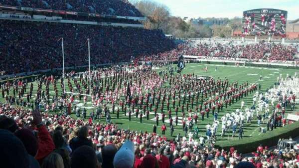 Sanford Stadium, secção: 116, fila: 48