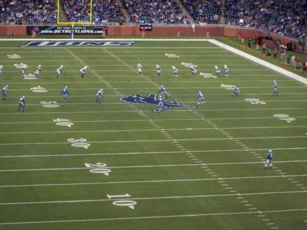 Ford Field, secção: 342, fila: 2, lugar: 17
