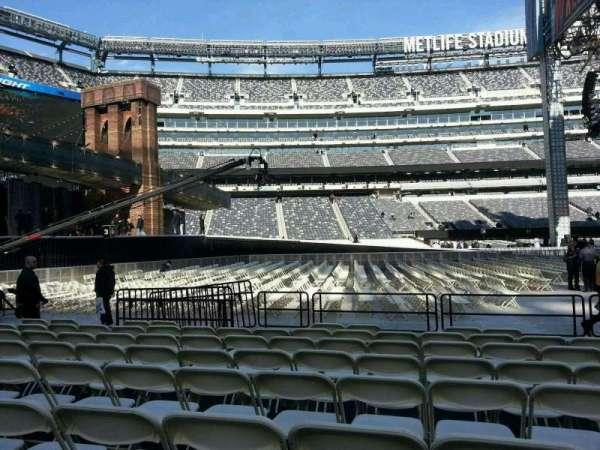 MetLife Stadium, secção: 142, fila: h, lugar: 18