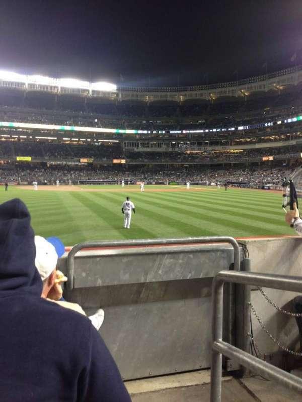 Yankee Stadium, secção: 136, fila: 12, lugar: 1