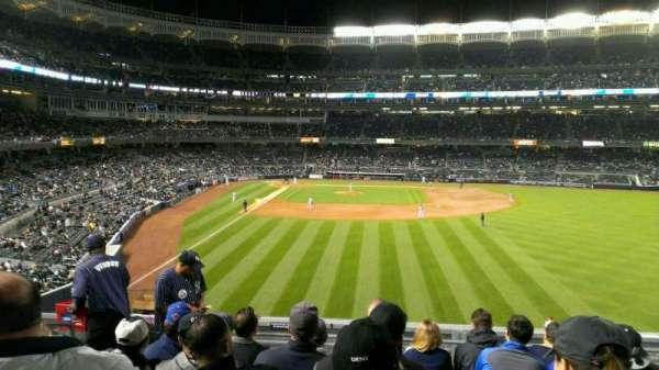 Yankee Stadium, secção: 205, fila: 7, lugar: 18