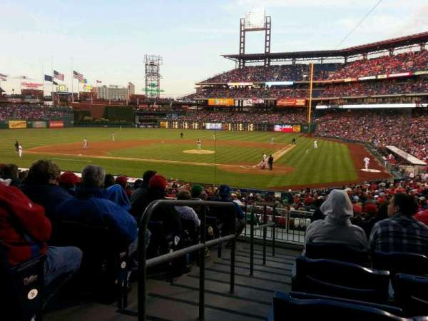 Citizens Bank Park, secção: 126, fila: 28, lugar: 12
