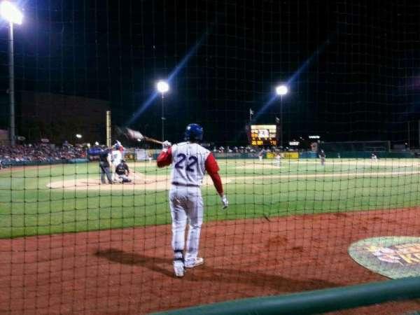 Banner Island Ballpark, secção: 112, fila: 2, lugar: 6