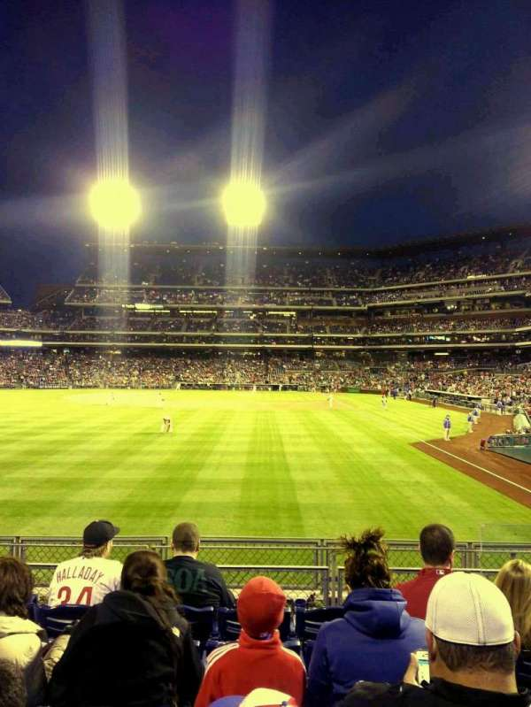 Citizens Bank Park, secção: 142, fila: 6, lugar: 4