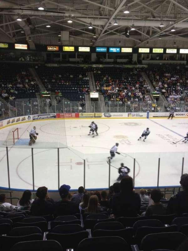 Hertz Arena, secção: 103, fila: 13, lugar: 9
