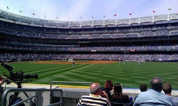 Yankee Stadium, secção: 104, fila: 14, lugar: 23