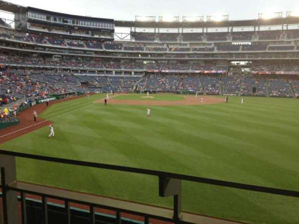 Nationals Park, secção: 139, fila: T, lugar: 16
