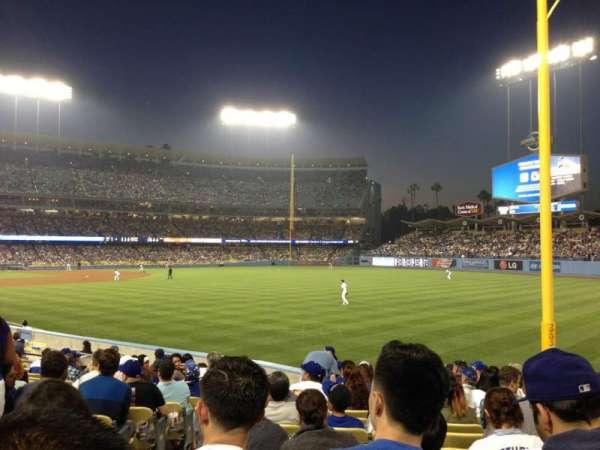 Dodger Stadium, secção: 48FD, fila: O, lugar: 3
