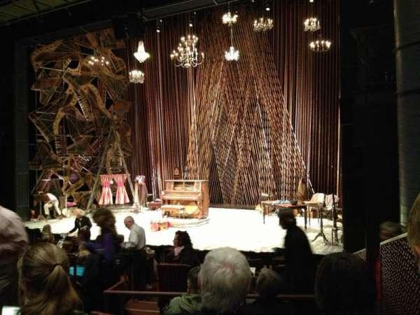 Berlind Theatre, secção: Floor1, fila: J, lugar: 14