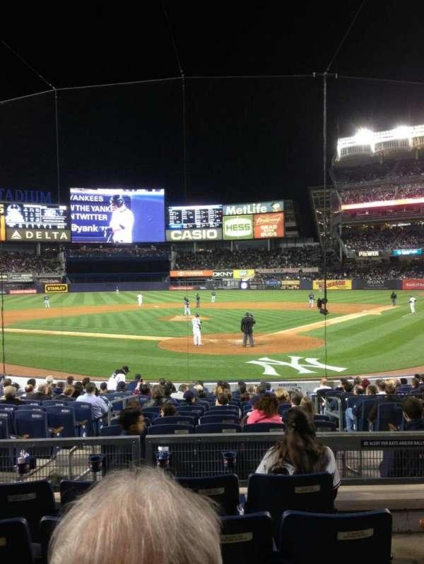 Yankee Stadium, secção: 113, fila: 15, lugar: 4