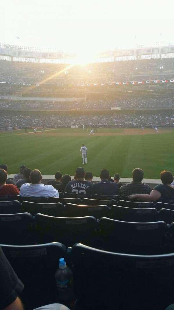 Yankee Stadium, secção: 104, fila: 19, lugar: 15