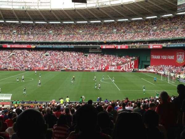 RFK Stadium, secção: 304, fila: 10, lugar: 9