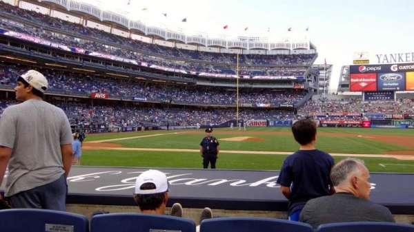 Yankee Stadium, secção: 016, fila: 7, lugar: 5