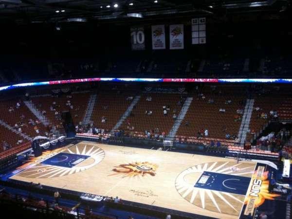 Mohegan Sun Arena, secção: 116, fila: M, lugar: 16