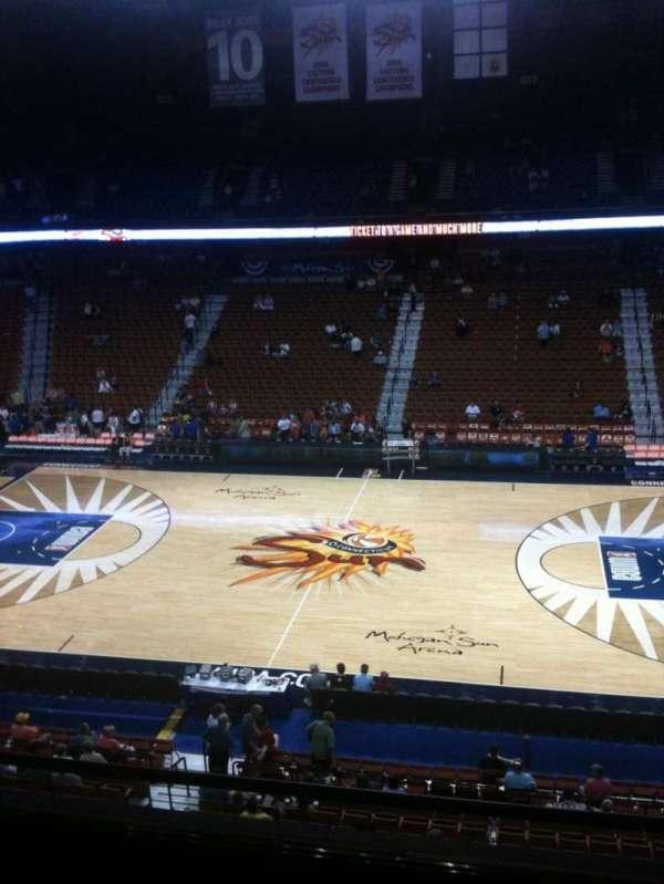 Mohegan Sun Arena, secção: 117, fila: E, lugar: 7