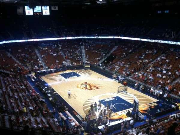 Mohegan Sun Arena, secção: 103, fila: K, lugar: 8