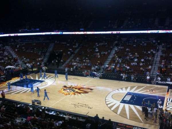 Mohegan Sun Arena, secção: 105, fila: C, lugar: 8